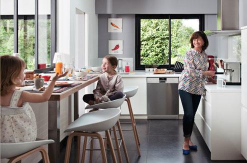 Meubles de cuisine meubles de cuisines - Coin repas dans cuisine ...