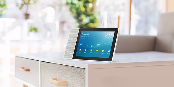 Le smart display de Lenovo vous simplifie la vie