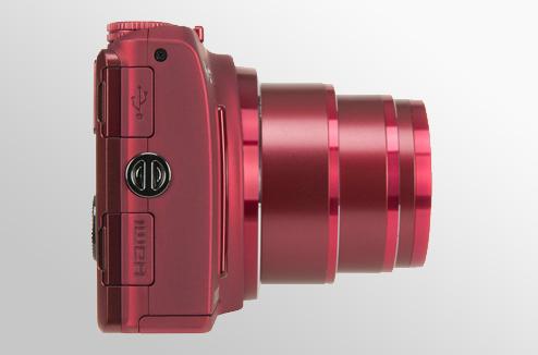 Un appareil photo compact à zoom puissant