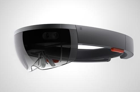 Conférence Microsoft : casque HoloLens