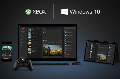 Conférence Microsoft Windows 10 sur Xbox One