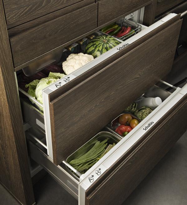 Cuisine ouverte camouflez votre lectro darty vous - Meuble refrigerateur encastrable ...