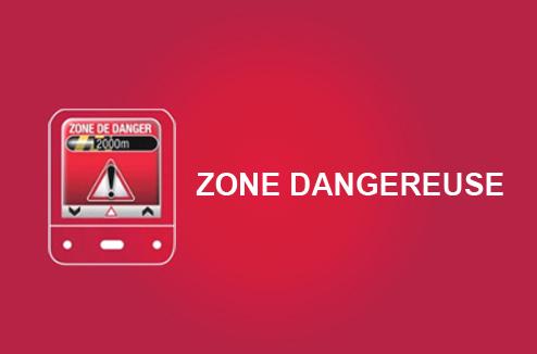 Coyote : alerte zone dangereuse
