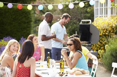 Cuisine d'été et déjeuner en plein air
