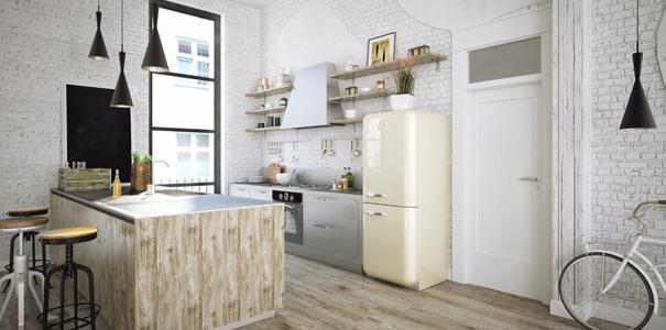 Cuisine quip e comment la meubler quand on est for Amenager cuisine non equipee