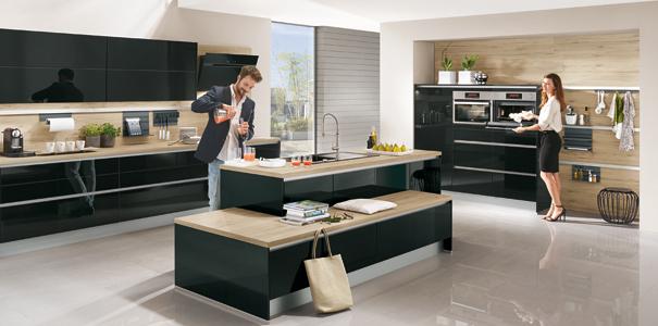 Cuisine quelle couleur associer avec le bois darty vous - Modele en ingerichte keuken ...