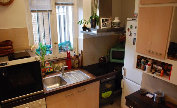 Avant apr s comment am nager une petite cuisine for Darty cuisine outil 3d