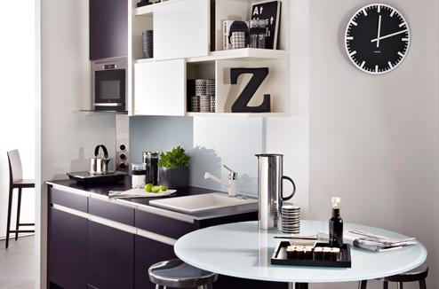 Le noir et blanc dans la cuisine c 39 est moderne darty vous - Idees de cuisine moderne noir et blanc ...