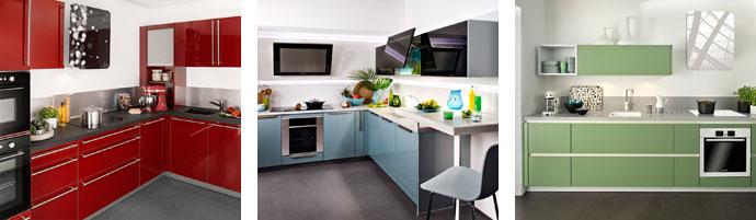 Cuisine la tendance color e darty vous - Espace cuisine darty ...