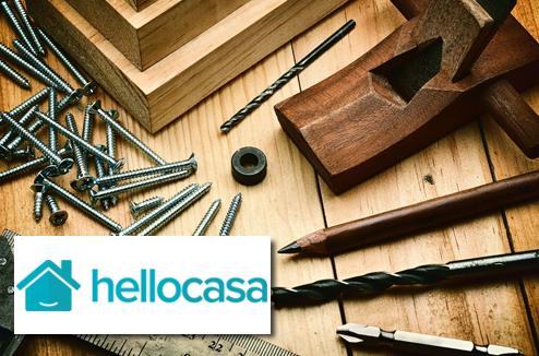 Le bricolage avec Hellocasa et Darty