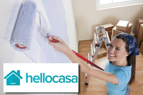 Peinture avec Hellocasa et Darty