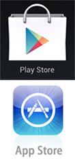 Google Play Store et AppStore