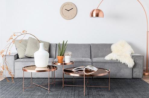 9 meubles et objets en cuivre à shopper