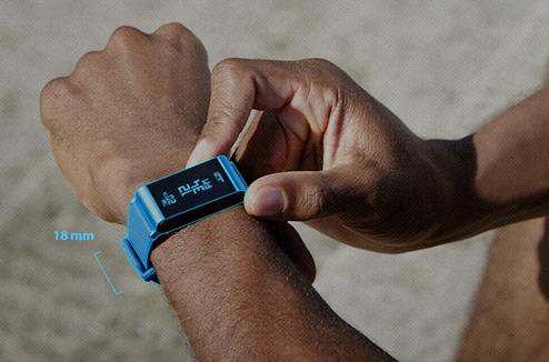Withings Pulse O2 avec son bracelet