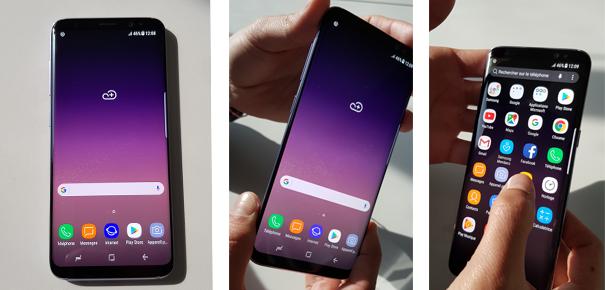 Design du Samsung Galaxy S8