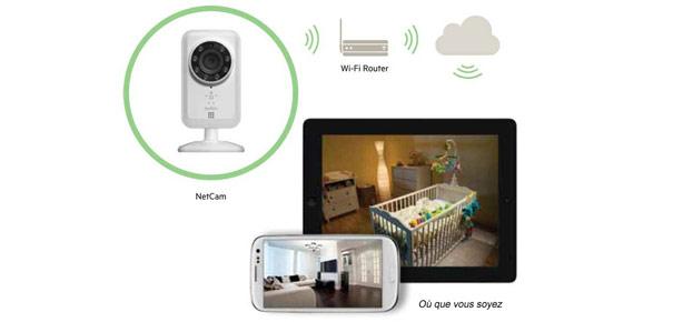 la vid o surveillance accessible tous darty vous. Black Bedroom Furniture Sets. Home Design Ideas