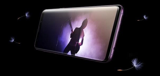 Écran OLED Infinity Display du Samsung Galaxy S9 et S9+