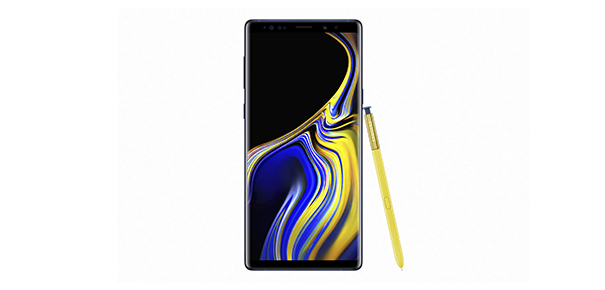 Écran Super Amoled borderless du Note 9