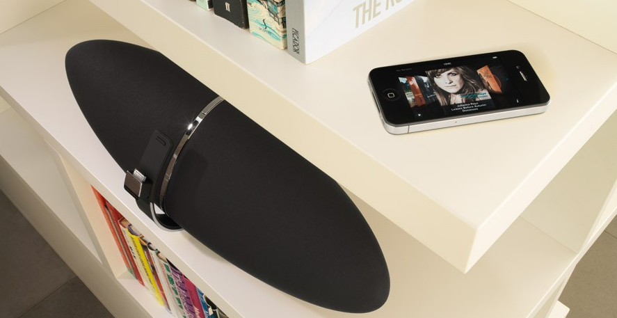 Enceinte AirPlay avec iPhone