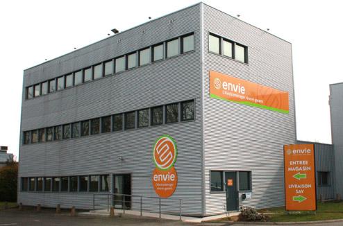 recyclage chez Envie