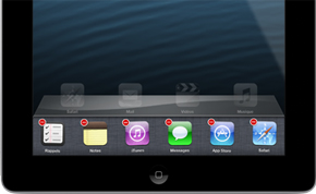 iPad : fermer une application