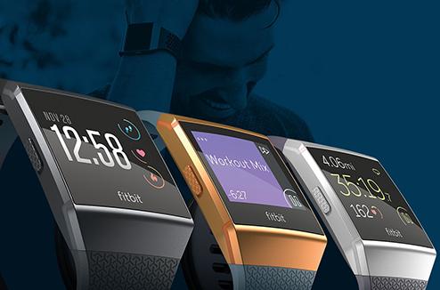 Nouvelle montre connectée Fitbit Ionic