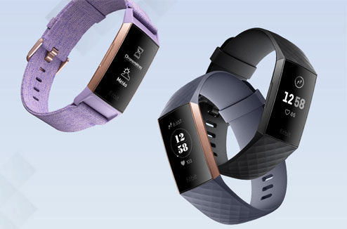 La montre connecté Fitbit Charge 3