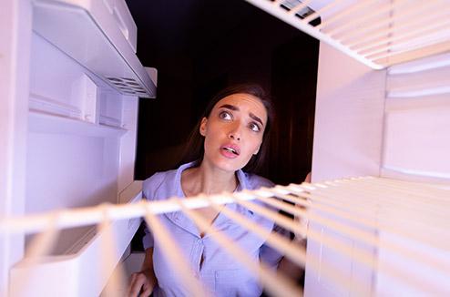 Votre frigo a un problème ?