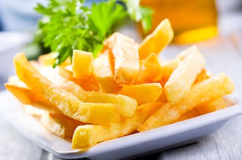 Des frites légères et croustillantes