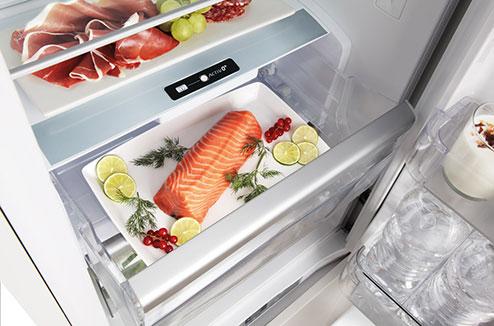 frigo froid ventile