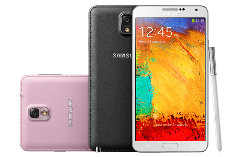Design du Galaxy Note 3 de Samsung