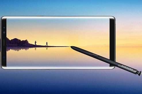 Samsung Galaxy Note 8 avec son Stylet