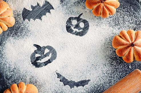 Préparatifs halloween