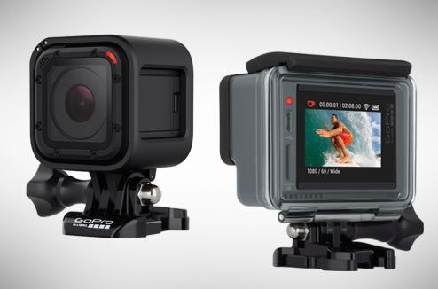 GoPro Hero 4 Session et Hero+ LCD