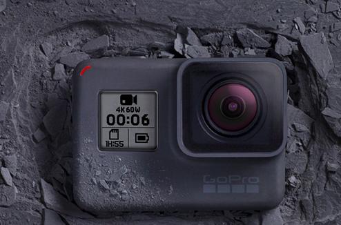 Actu sur la GoPro Hero6 Black