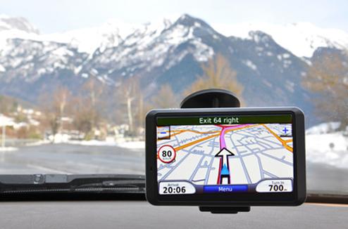 GPS à la montagne