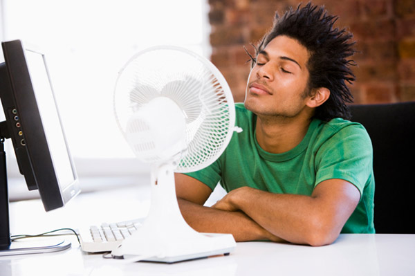 People Using Electric Fan : Guide d achat ventilateur darty vous