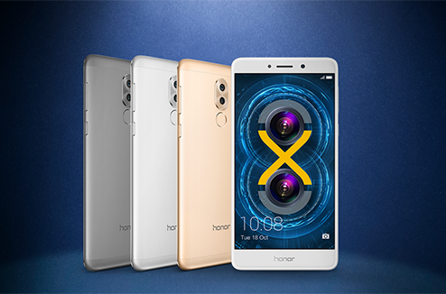 Coloris du Honor 6X