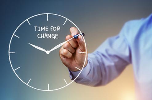 Il est temps de changer !