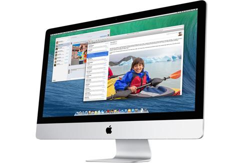 iMac sous Mac OS X Mavericks