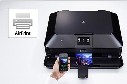 AirPrint avec une imprimante Canon