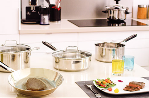 Inox : la solution pour cuisiner sans danger
