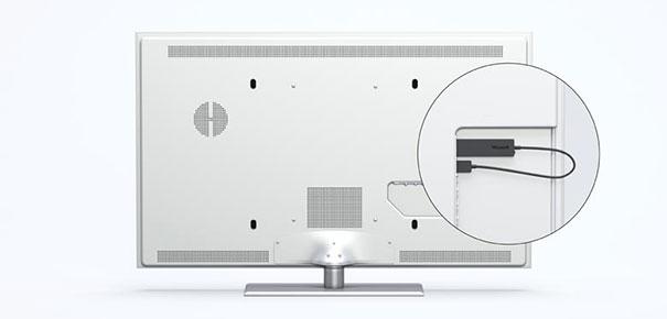 microsoft wireless display adapter un grand cran pour son smartphone ou sa tablette darty. Black Bedroom Furniture Sets. Home Design Ideas