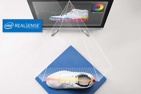 Technologie Intel Real Sense : scanner 3D