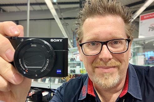 Appareil photo RX100, le coup de coeur de Jean-Marc