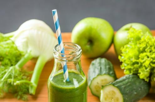 jus de légumes verts