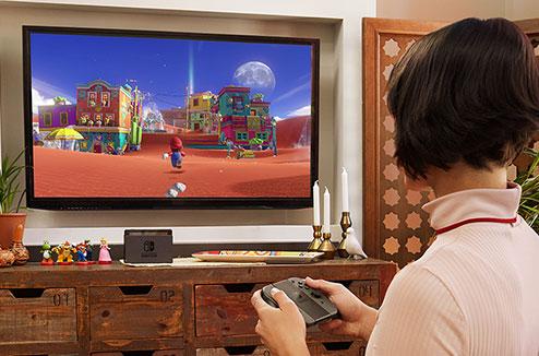 La Nintendo Switch et Mario Kart
