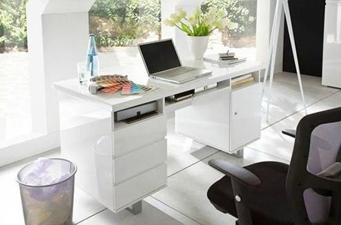 Un bureau bien équipé