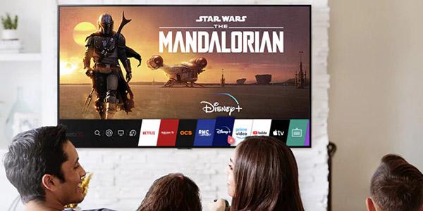 TV LG connectée
