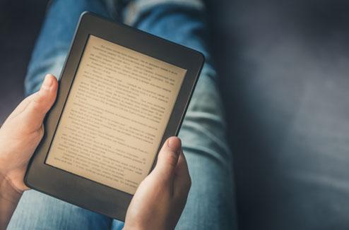 Liseuse ebook en fonctionnement